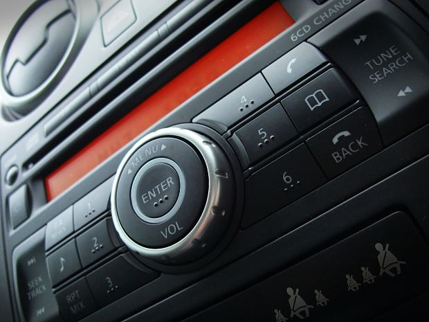 sound system in a car