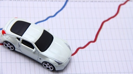 car and graph