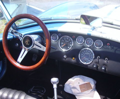inside car interior